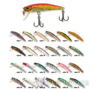Воблер Maruto Miracle Wing Minnow 5S