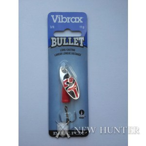 Блесна Blue Fox Bullet Vibrax VB3-SRB 11гр. 6,5см