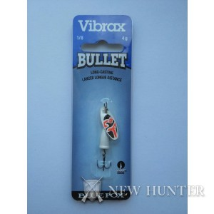 Блесна Blue Fox Bullet Vibrax VB0-WRB 4гр. 5см