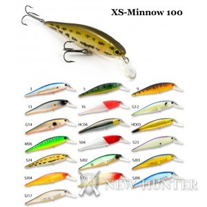 Воблер RAIDEN Xs-Minnow 100