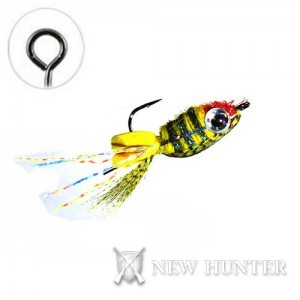Floating Jig Perch Minnow Olive FG22