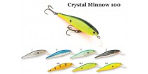 Воблер RAIDEN Crystal Minnow 100