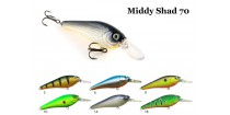 Воблер RAIDEN Middy Shad 70